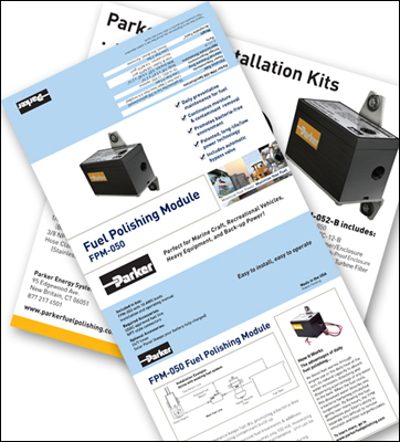 Print and Web Design: Parker Hannifin, Energy Systems